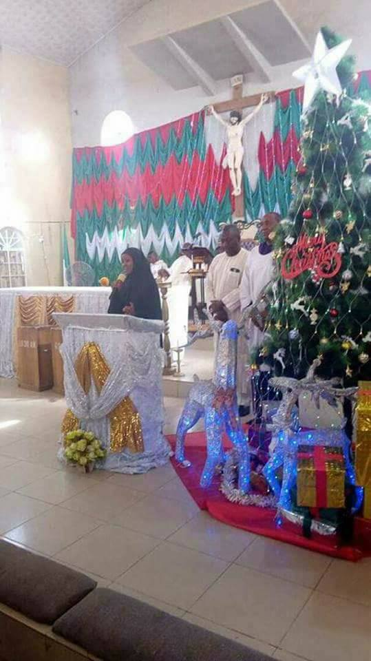 Photos: Shiite members attend Christmas service at a church in Jos