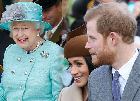 Prince Harry?s most shocking present for the Queen revealed as Meghan Markle joins royal family festivities