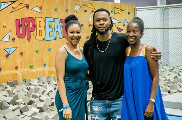 Photos: Singer Flavour spent Christmas Day with Anna Ebiere and their daughter Sophia