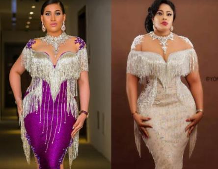 Who rocked this look better? Caroline  Danjuma or Biodun Okeowo aka Omobutty?