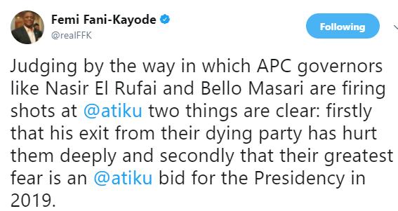 FFK says Atiku Abubakar