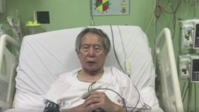 Jailed former president of Peru apologises to the Nation for bad governance from hospital bed?(Video)