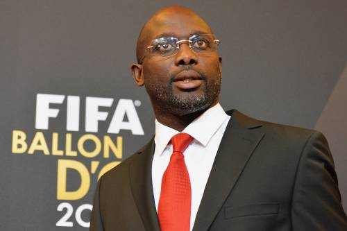 George Weah wins Liberia