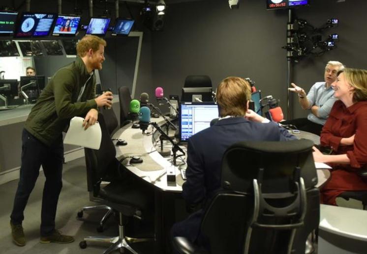 Prince Harry reveals Meghan Markle