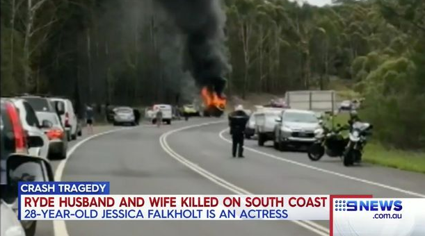 Home and Away actress Jessica Falkholt and her sister fighting for their lives after Boxing Day car crash that killed both their parents