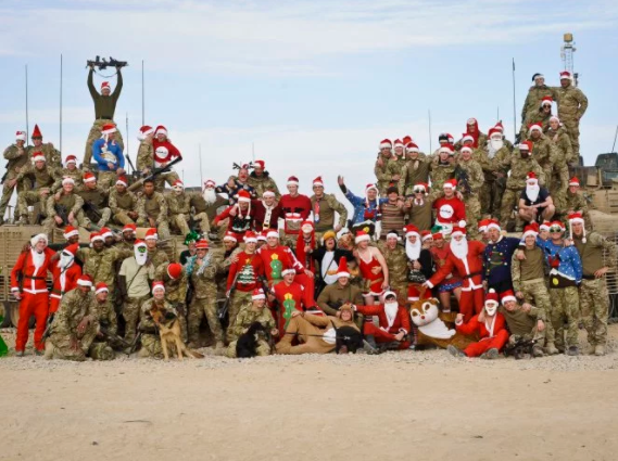 UK troops in Afghanistan get ?1 each to celebrate Christmas