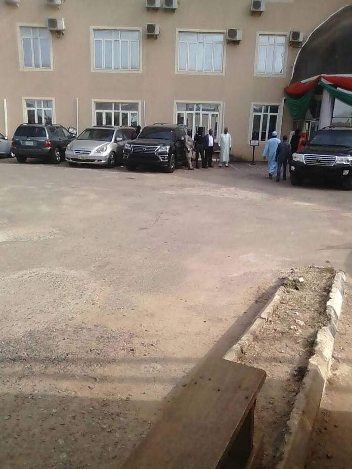 Photos from the hospital where Yusuf Buhari is receiving medical care after bike accident