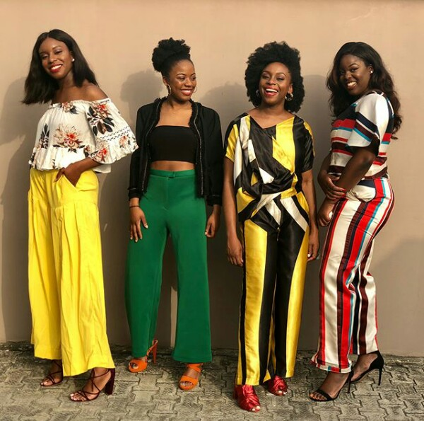 Squad goal! Chimamanda Adichie introduces her beautiful nieces