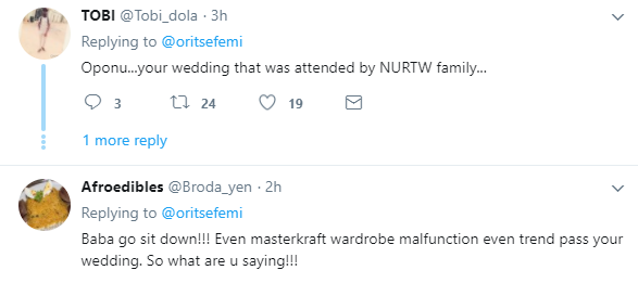 Choi! Nigerians roast singer, Oritsefemi for saying his wedding ceremony beat all the music shows happening lately