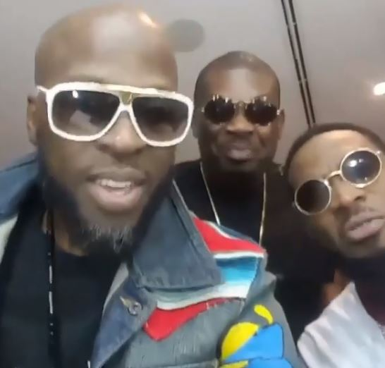 5-Years after, Davido reunites defunct Mohits group at his #30BillionConcert