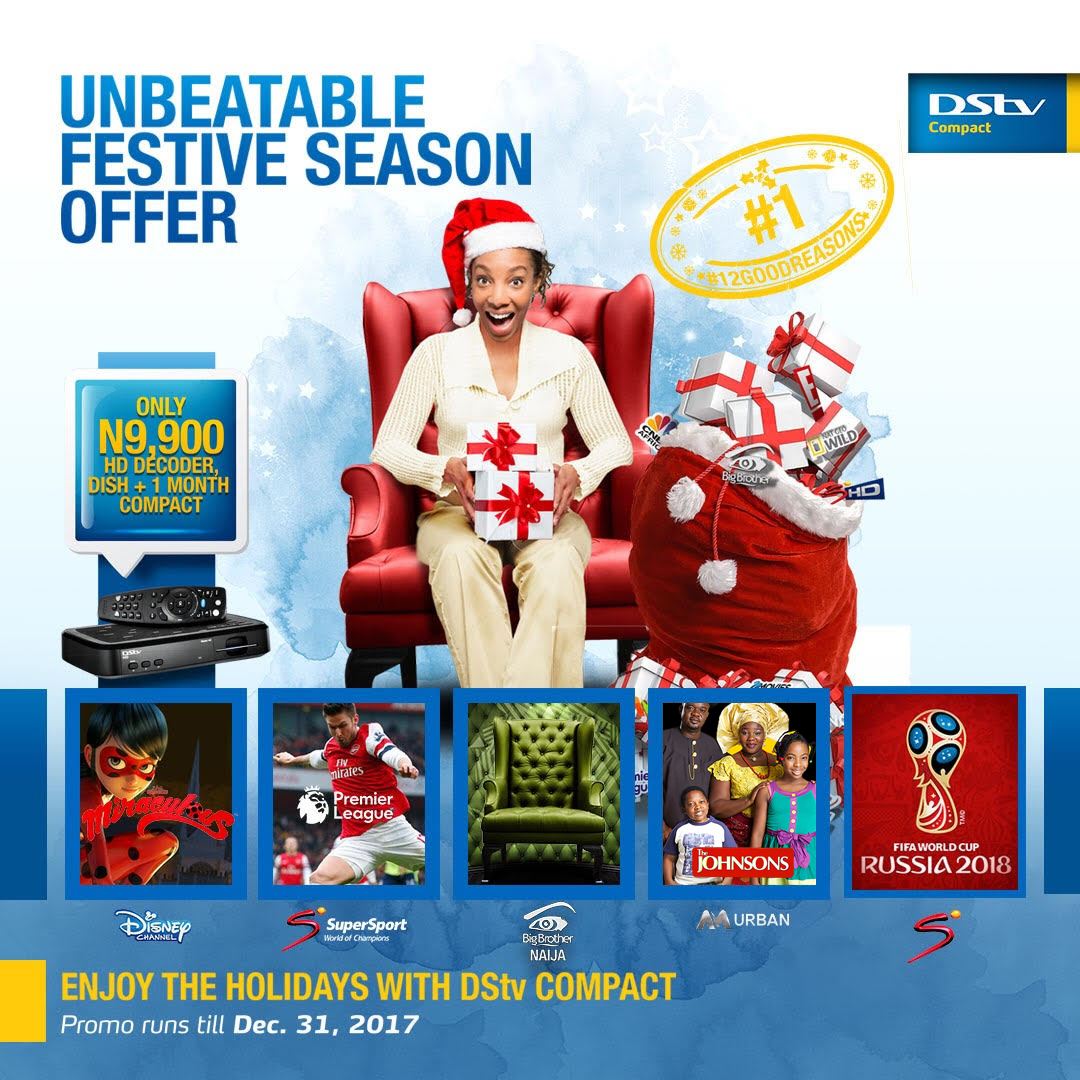 Have a fantastic holiday season with DStv