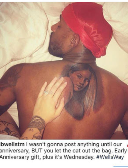 Man who went viral for tattooing his wife