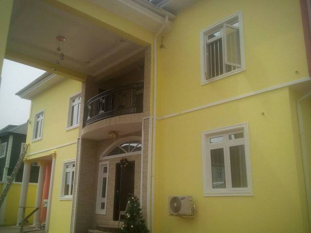 Image result for Gospel artiste, Tope Alabi and her husband, Soji, dedicate their new home