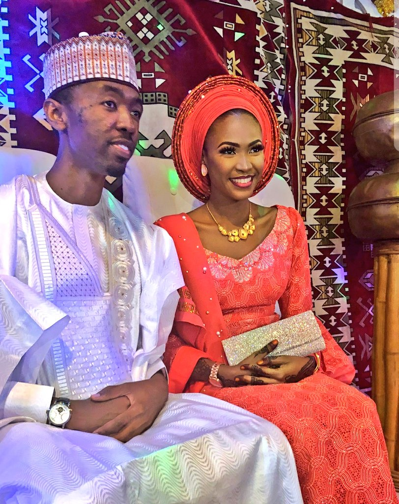 Son of the President of the Nigerian Bar Association, Sadiq Mahmoud weds, see photos of his beautiful bride