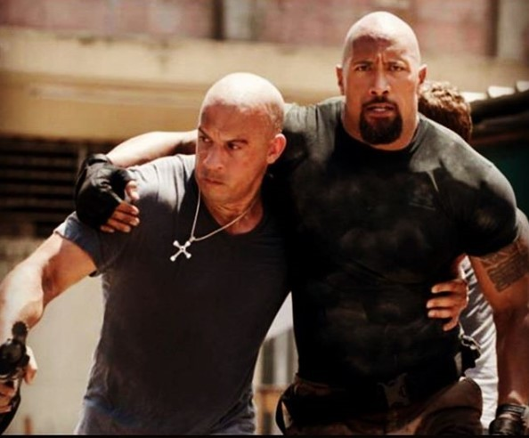 Vin Diesel beats Fast and Furious co-star Dwayne Johnson to be named Forbes