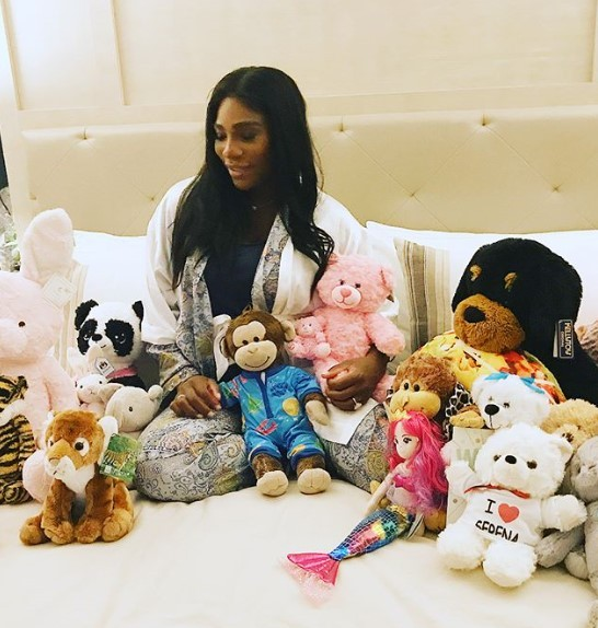 Serena Williams shares her 10 personal moments of 2017
