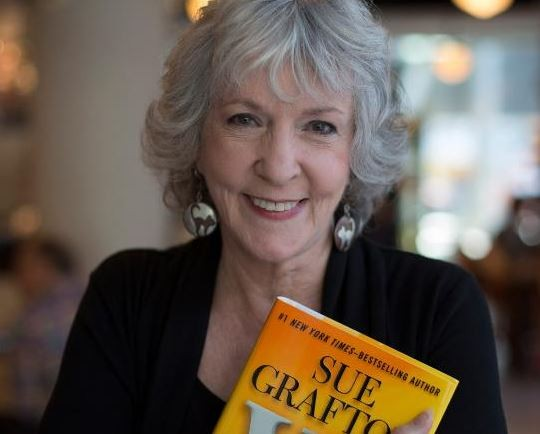 Best-selling author,?Sue Grafton?dies at 77 after battle with Cancer