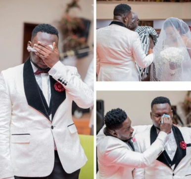 Lol... grooms now cry more than brides during weddings