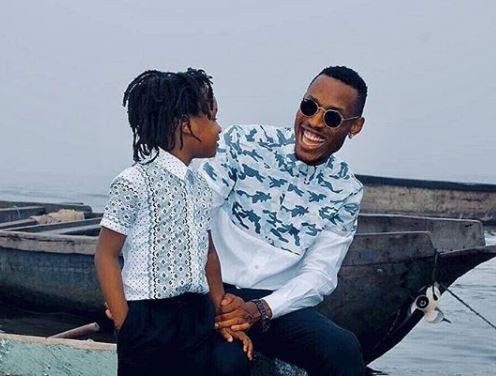 Mr 2Kay Celebrate His Son's Wealth Davido 5th Birthday With Cute Photos.