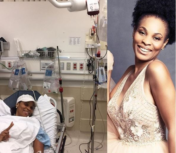 Actress,?Georgina Onuoha narrates how she?received?blood transfusion on her birthday and narrowly survived a car crash two weeks ago