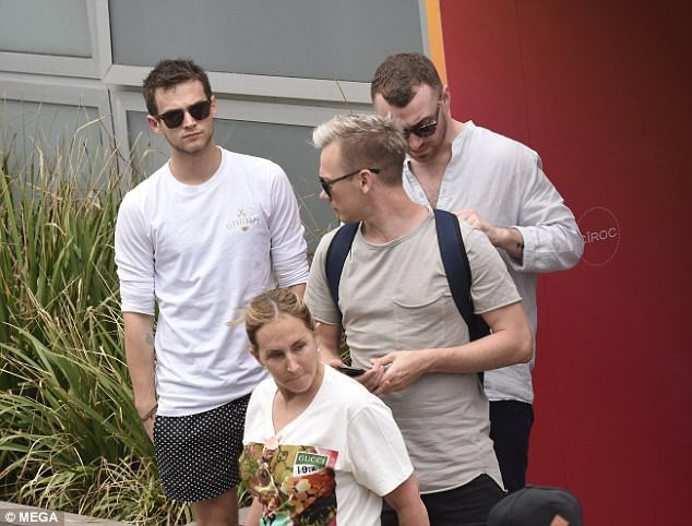 Sam Smith and boyfriend enjoy casual stroll in Sydney as they prepare to spend their first New Year