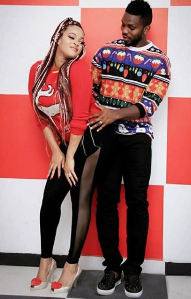 Adaeze Yobo and her hubby, Joseph Yobo, take raunchy photo as they celebrate their 8th wedding anniversary