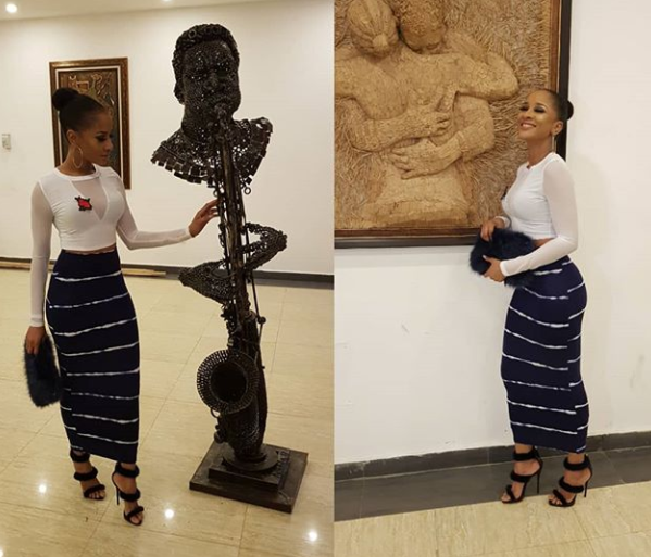 Adesua Etomi and BankyW step out in style....(Photos)