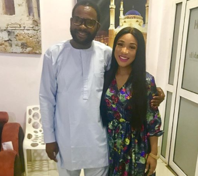 Actress Tonto Dikeh appreciates her sexy new body she got via cosmetic surgery on LITV