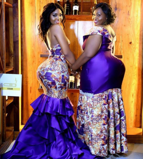 See photo of mother/daughter with massive butts that