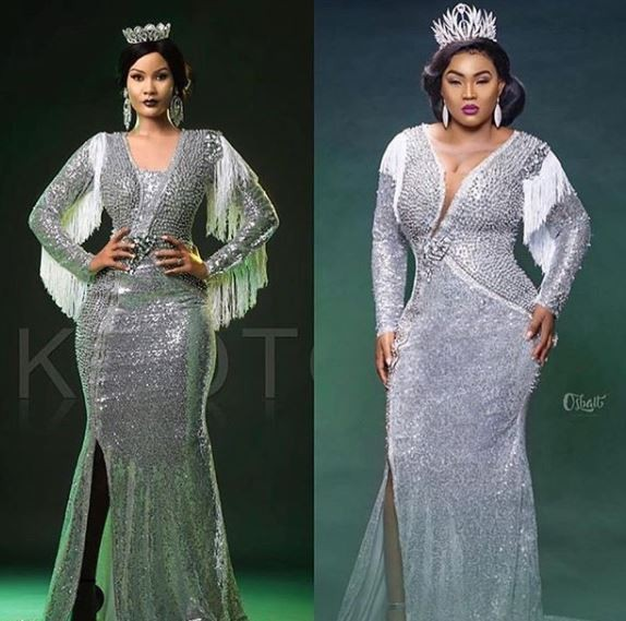 Photos: Who wore it better? Mercy Aigbe VS Hamisa Mobetto