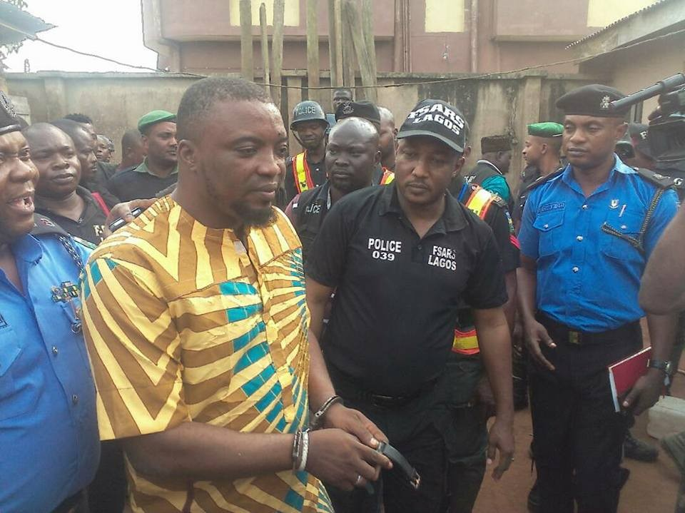 Photo:?Lagos State Police arrest Badoo cult leader and?chief herbalist