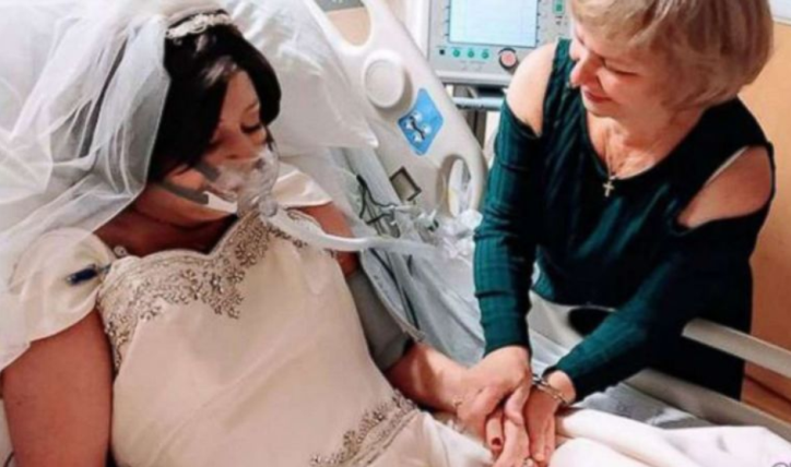 Bride battling breast cancer dies 18 hours after exchanging vows
