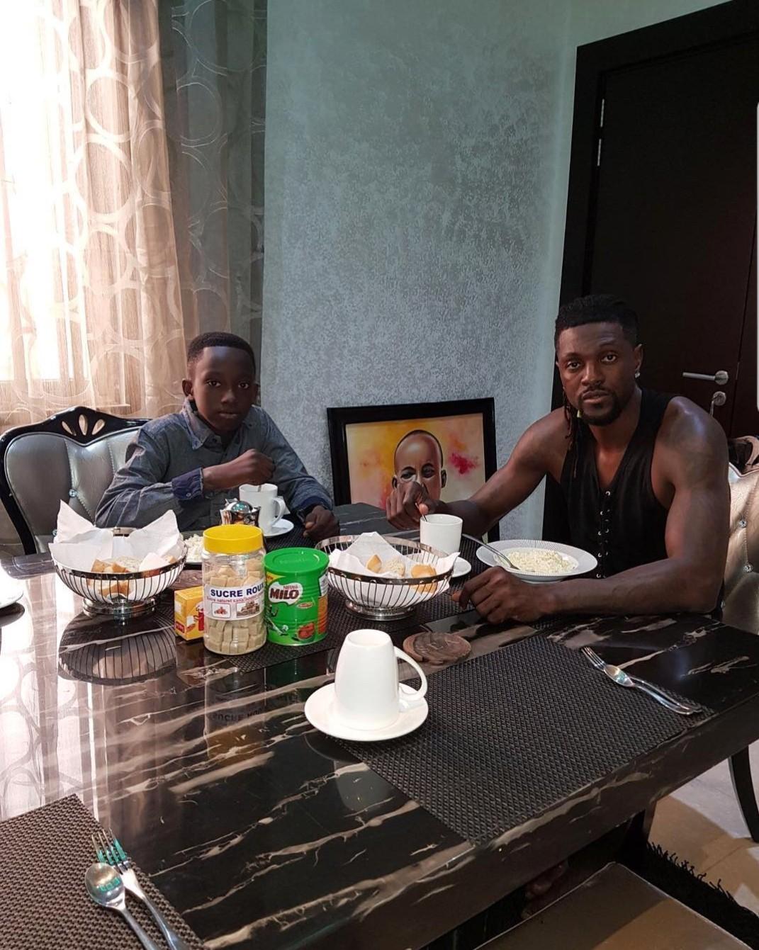 Emmanuel Adebayor takes custody of his late brother