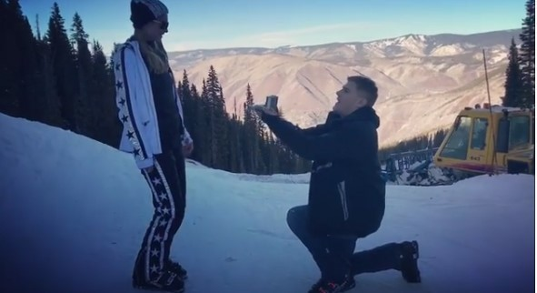 Paris Hilton is engaged to Chris Zylka