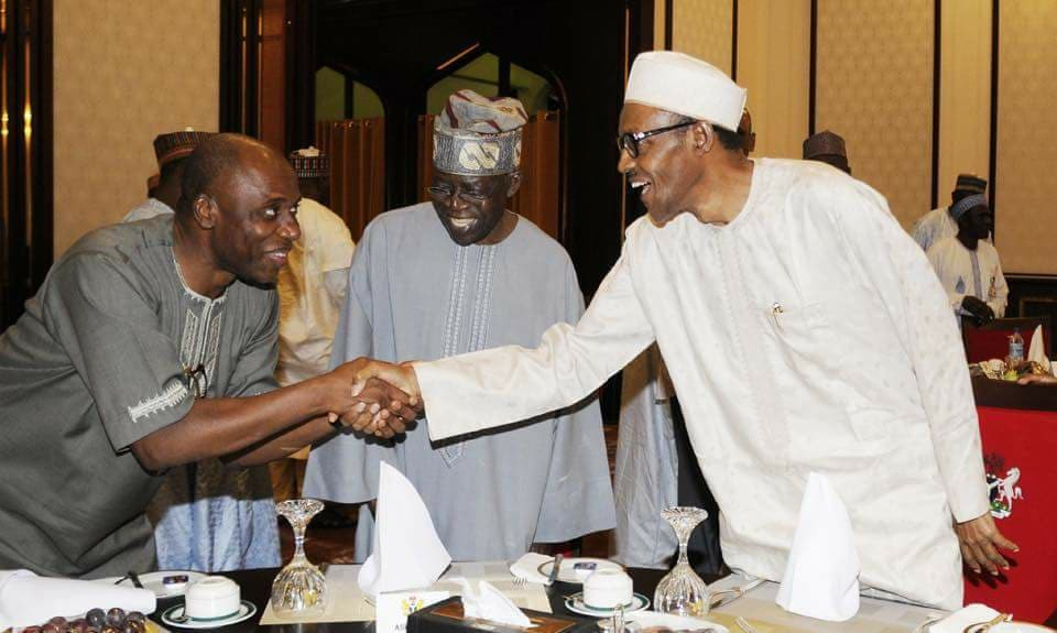 Image result for Buhari Reappoints Amaechi Campaign DG
