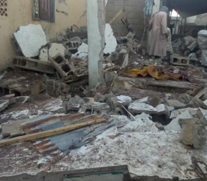 Teenage male suicide bomber attacks mosque in Borno, kills his father, 9 others