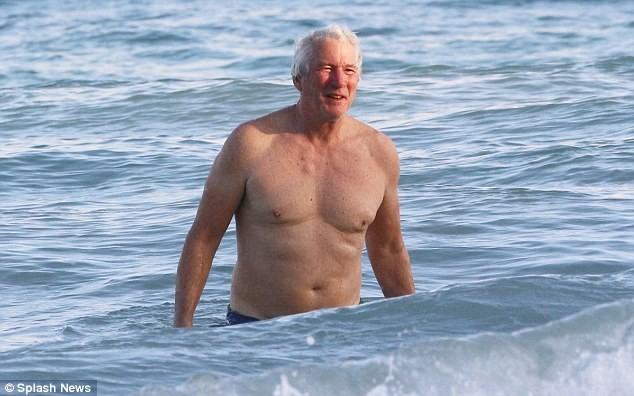 Oh dear! These new photos of Richard Gere