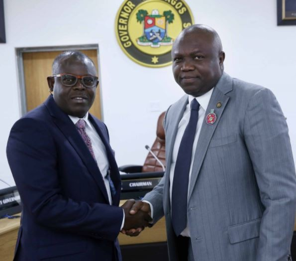 Sesan Ogundeko sworn-in as the Permanent Secretary in the Lagos State Civil Service by Governor Ambode