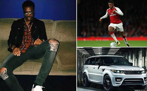 Drunk Nigerian footballer Chuba Akpom banned after crashing ?60,000 Range Rover?