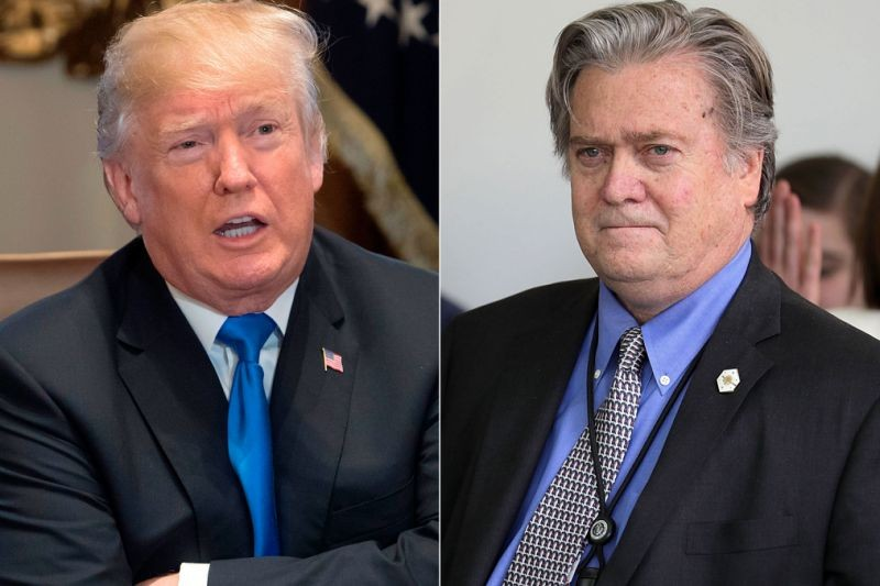Trump slams ex-chief strategist Steve Bannon after criticism, says he