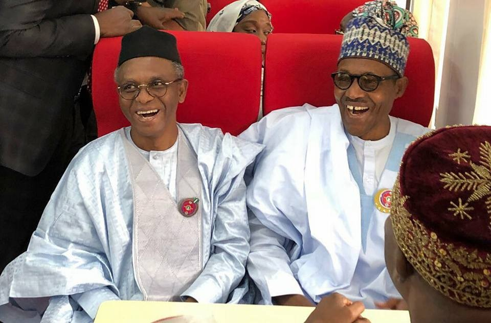 Photos: President Buhari visits Kaduna state, commissions new coaches and locomotives for the Kaduna-Abuja train service