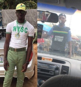 Youth Corps member narrates how SARS officials stopped him today in Lagos and accused him of being a cultist after he refused to open his phone