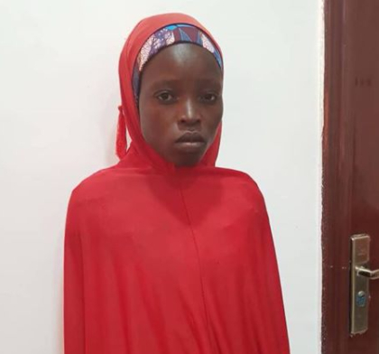 Photo: Nigerian Army rescues another Chibok school girl