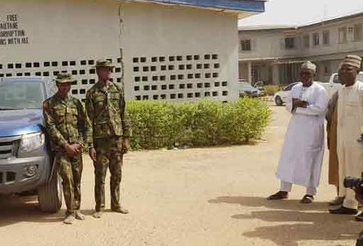 Photo: Two ex-Military officers arrested for alleged robbery in Kano State