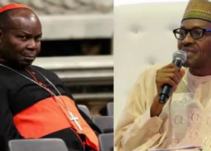 ''Respect yourself and retire quietly. You have failed woefully'' Cardinal Okogie slams President Buhari