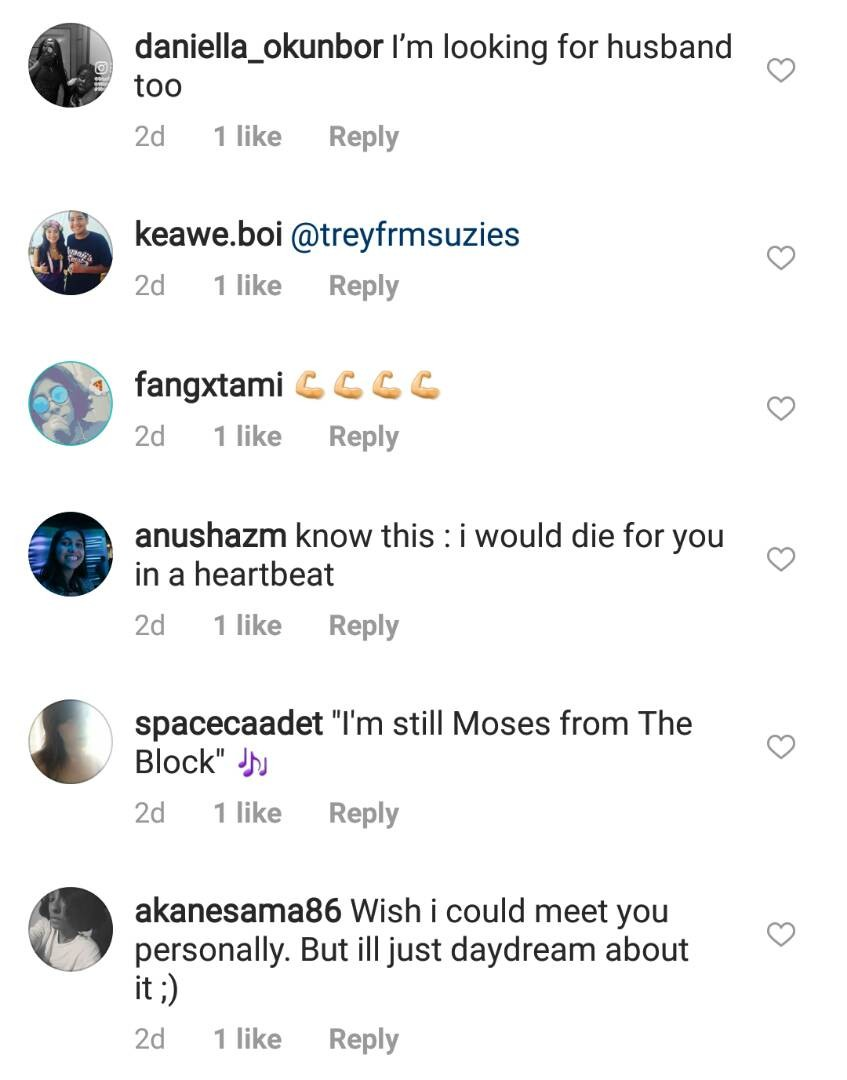 Nigerian ladies shoot their shot on John Boyega