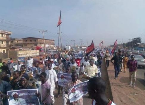 Police and Shiite members?clash in Kaduna State, leaving Three people injured