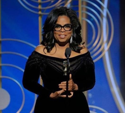 Oprah Winfrey becomes the first black woman to win the?Cecil B. Demille award at the Golden Globes and her speech was powerful!