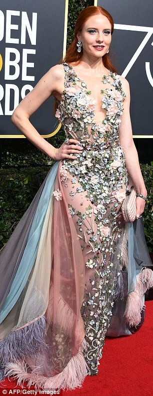Photos: See celebs who defied the ALL BLACK dress code for the 2018 Golden Globes Awards