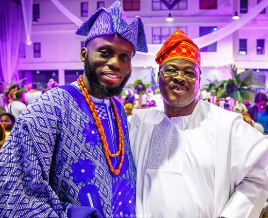 More photos from the traditional wedding of Ondo state governor, Rotimi Akeredolu